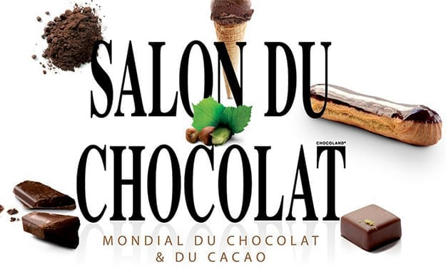 Affiches from the fair Salon du chocolat
