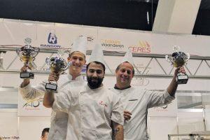 kanmpioenschappen Bakkers in Valencia met de drie winnaars