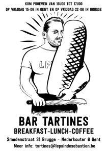 Bar Tartines biedt vlotte gerechtjes van een hoog niveau.