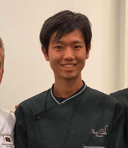 Togo Matsuda komt uit Japan en werkt bij Jean-Paul Hévin
